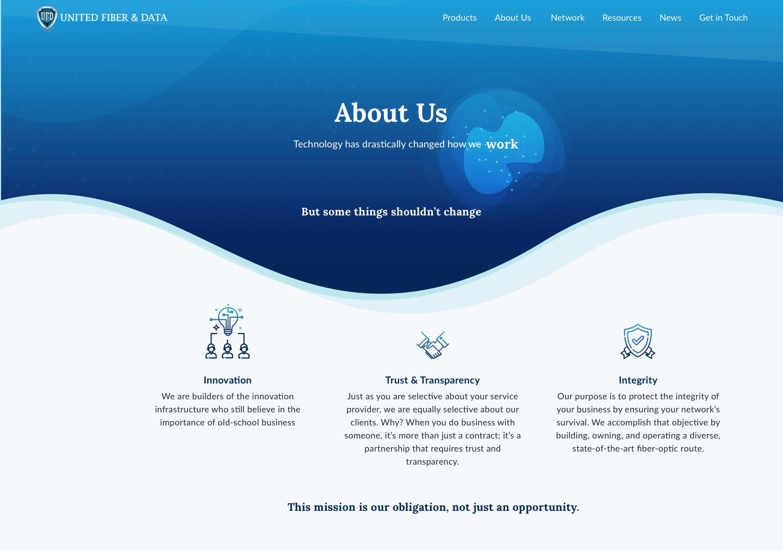 UFD Website